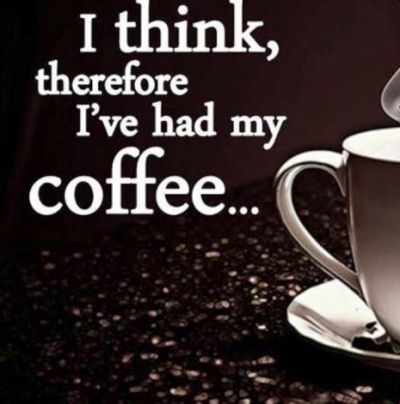 Good morning #friends  The #weekend is almost here!  😊 #coffee #fridaymorning #womeninventors #think