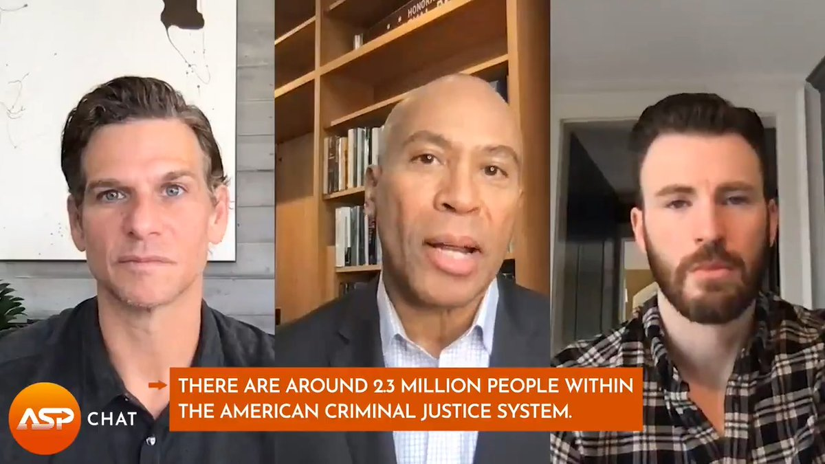 Hear former MA Gov. @DevalPatrick explain his view on the prison industrial complex, and what reforms to the system he would like to see from the Biden administration in the long term. Watch the full #ASPChat here 👉