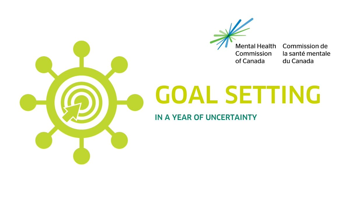 Planning for 2021 may seem complicated, if not impossible, due to the uncertainty brought on by the pandemic. @MHCC_ has 5 practical tips that can help you with choosing goals and determining how to achieve them: mentalhealthcommission.ca/English/media/…