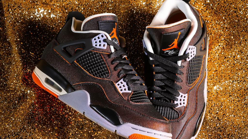 Feeling like a ⭐ Women's #Jordan Retro 4 'Starfish' is now available online & in-store  Shop: