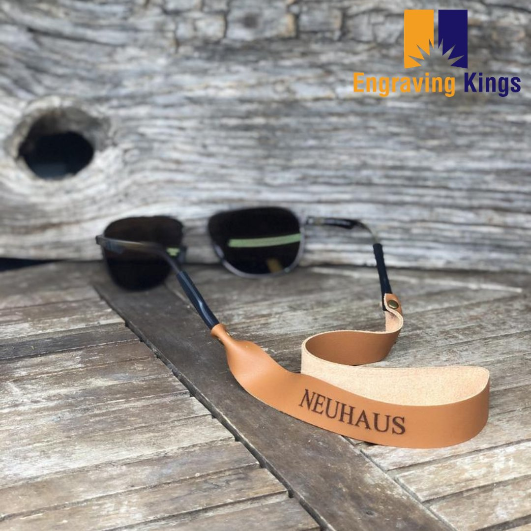 Have you had a chance to checkout our new sunglass lanyards? Tap the link in bio!   #personalized #engraved #wallets #phonecase #backpack #beyou #personalizedrite #engravingkings #leather #bags #makeityours #makeitpop