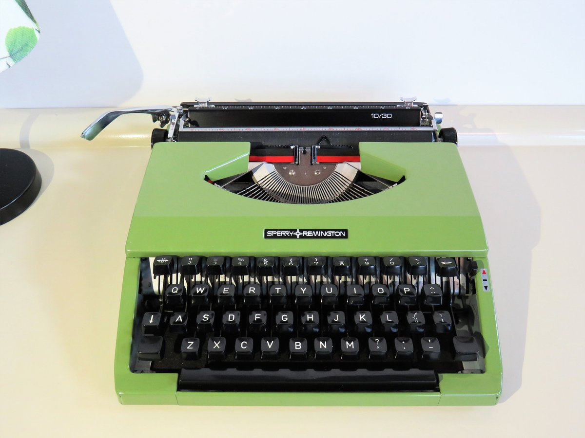 Vintage Typewriter, Manual Portable Typewriter. Sperry Remington. Green Olive Color. Working Typewriter. Home Decor, Cyber Monday, 70s https://t.co/Y3QQzy7gCb #FREESHIPPING #Retro #Wedding #Vintage #CYBERSALE #BlackFriday #covid-19 #Typewriters https://t.co/xPzxDlHXzx