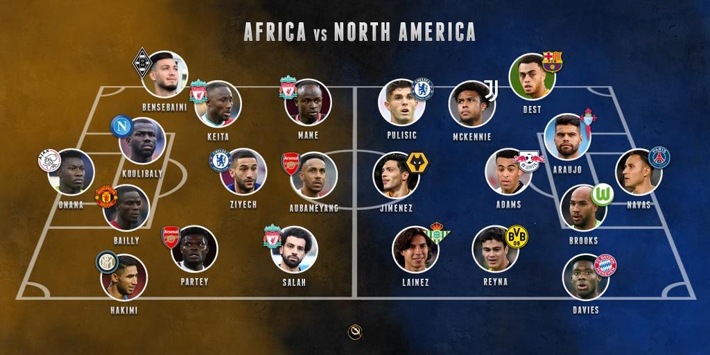 AFRICA vs NORTH AMERICA ⚽  Who wins?