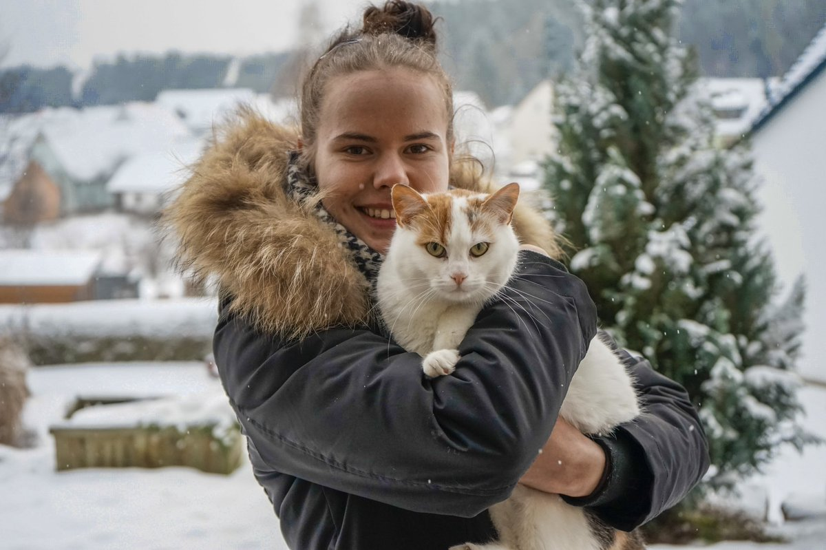 #cat #sweety #snow #WinterWonderland