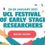 Image for the Tweet beginning: UCL celebrating Early Stage Researchers: