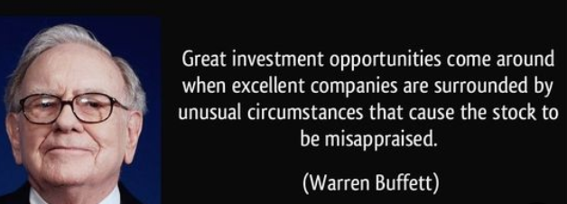 Quote of the Day...  #Quote #QuoteOfTheDay #ValueInvestor #WarrenBuffett