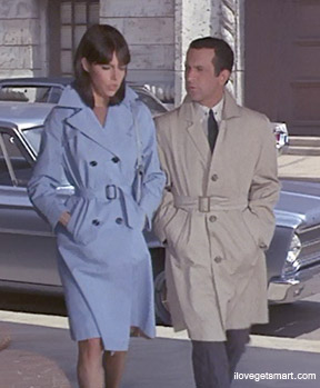 #FashionFriday #ClassicTV #GetSmart  Barbara Feldon and Don Adams