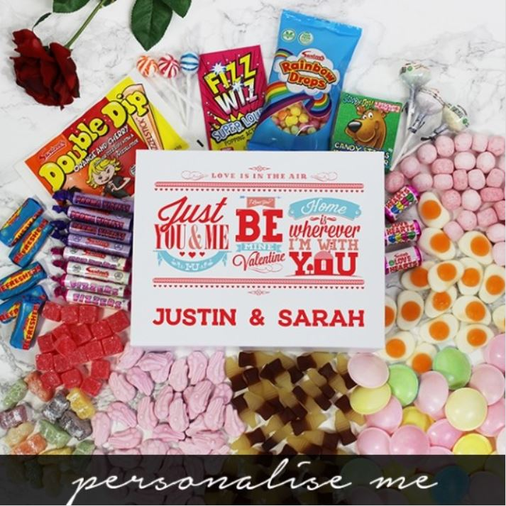 Passion or Love - Treat them to a retro gift this Valentine's Day!   #valentinesday #bemyvalentine #valentinesday2021 #happyvalentinesday #valentinesdaygifts #uniquegifts #personalisedgifts #love #passion #lovesweets #retrosweets #valentinesweets #valentine