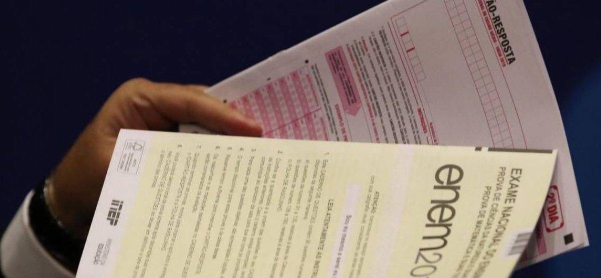 Enem 2020: Assista a correção da segunda prova do #Enem neste domingo (24) no @portalR7, a partir das 18h30  #R7Ensina (Conteúdo Patrocinado)