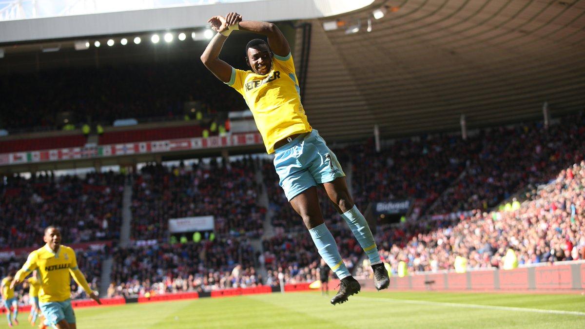 👤 Yannick Bolasie 👕 Crystal Palace 📅 11 April 2015 🆚 Sunderland ⚽️ 51' ⚽️ 53' ⚽️ 62'