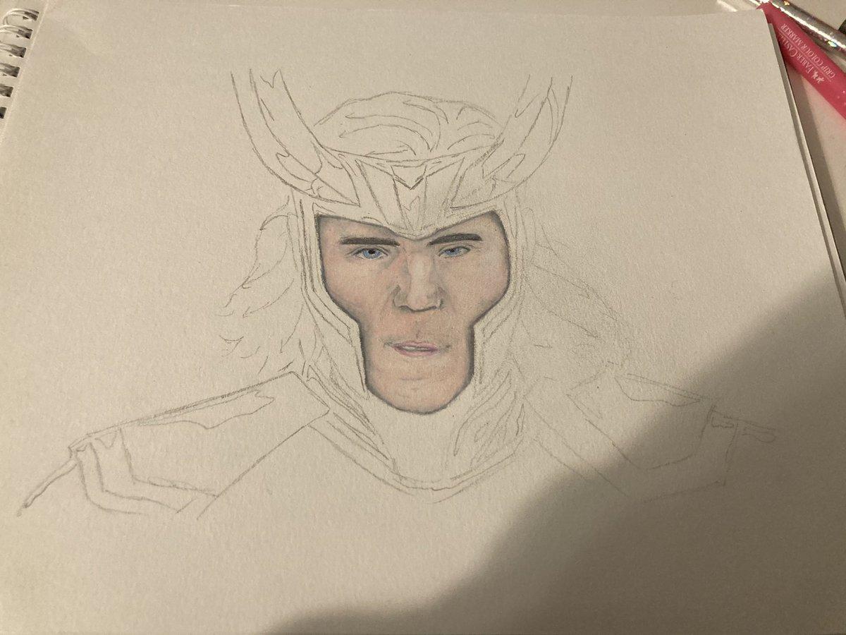 Face= done @twhiddleston #Berniememes #berniesmittens #fridaymorning #Avengers #movie #movies #Loki #actor #Netflix #TomHiddleston