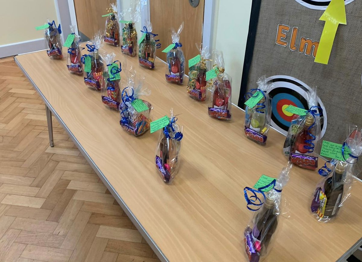 Lovely wellbeing gifts for our staff, Miss Chadwick was very busy secretly making these for our fantastic staff team!! #teamleverton #amazingstaff #Wellbeing