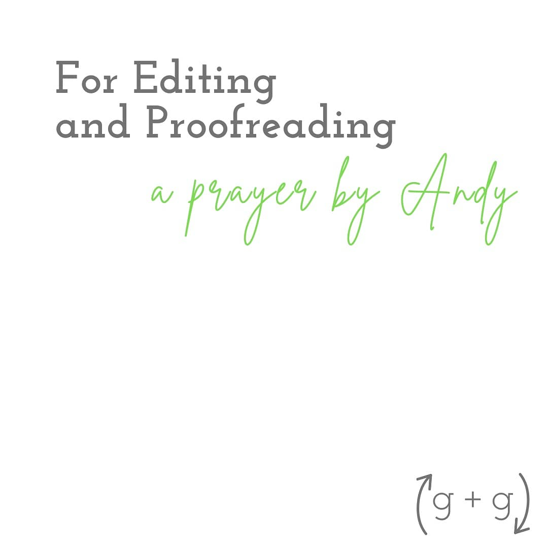 A prayer for all writers, editors, and proofreaders as they seek to smooth out rough drafts. #WritingCommunity #writing #editing #roughdraft #prayer