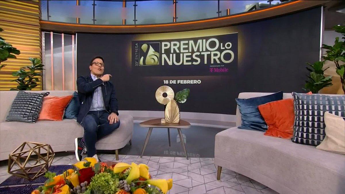 EN VIVO @OficialYuri nos habla sobre su emoción al ser una de las presentadoras en #PremioLoNuestro este 18 de febrero 7pm/6c junto a @chiqui_delgado y @JoseRon3 por @Univision