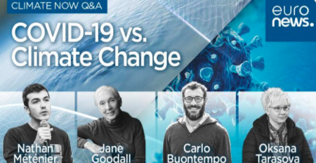 Did #COVID19 alter the course of #climatechange? @WilksJeremy and @euronews discussion with @JaneGoodallInst, @carlo_tuitter, @Nathan_Metenier and WMOs Oksana Tarasova Watch it here bit.ly/3paFv3Z