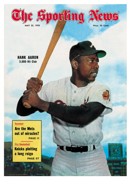 If you took away every one of Henry Aaron's 755 home runs, he still would've finished with more than 3,000 hits.  RIP, Hammer.