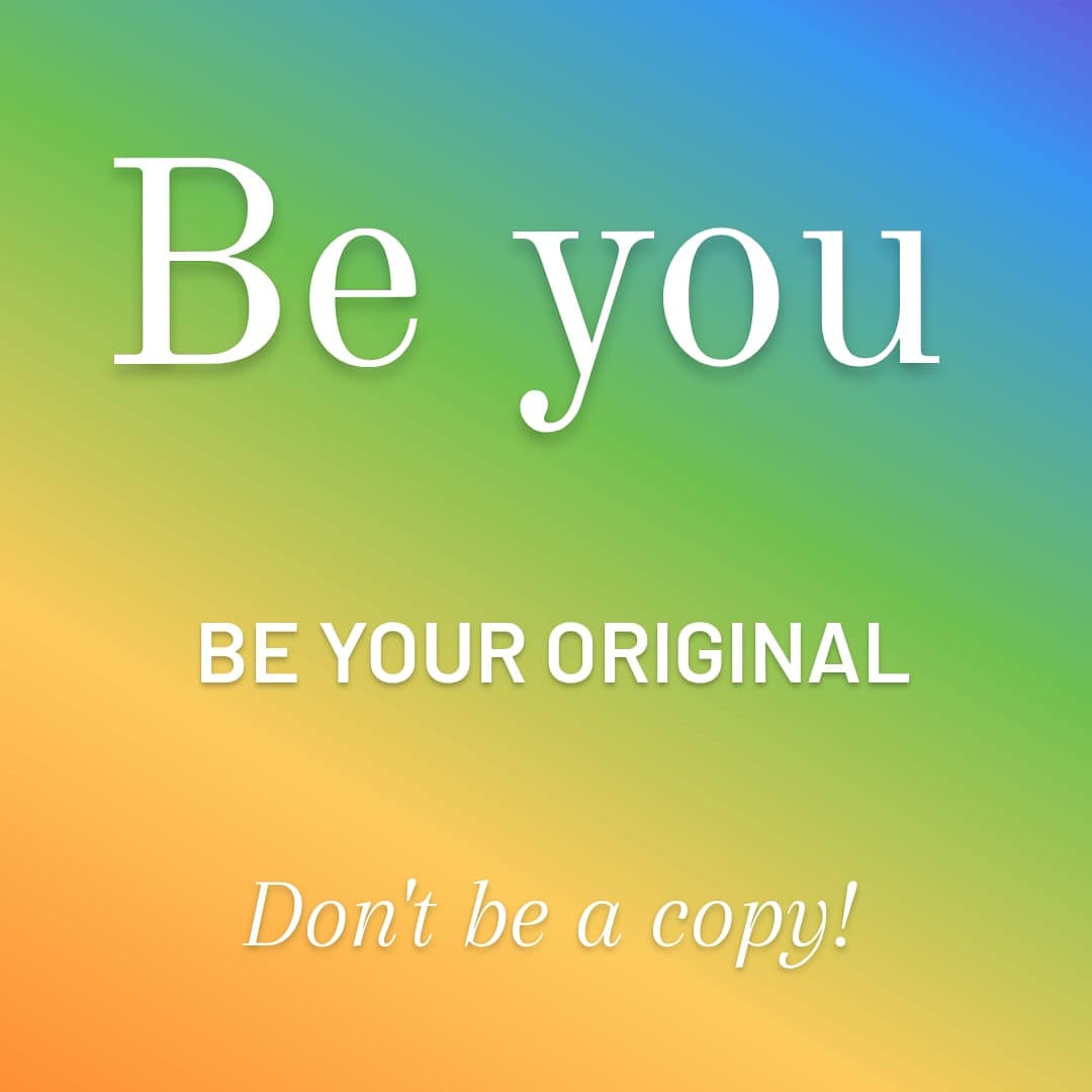 Be you always! Do be ashamed of who you are ever! Don't be a copy! Be you absolute self! Others will love the real you  Never change to fit in  #queenezzy #beyou #beyouroriginal #dontbeacopy #becrazy #belooney #juetbeyou #loveyourself #lovewhoyouare #neverchange