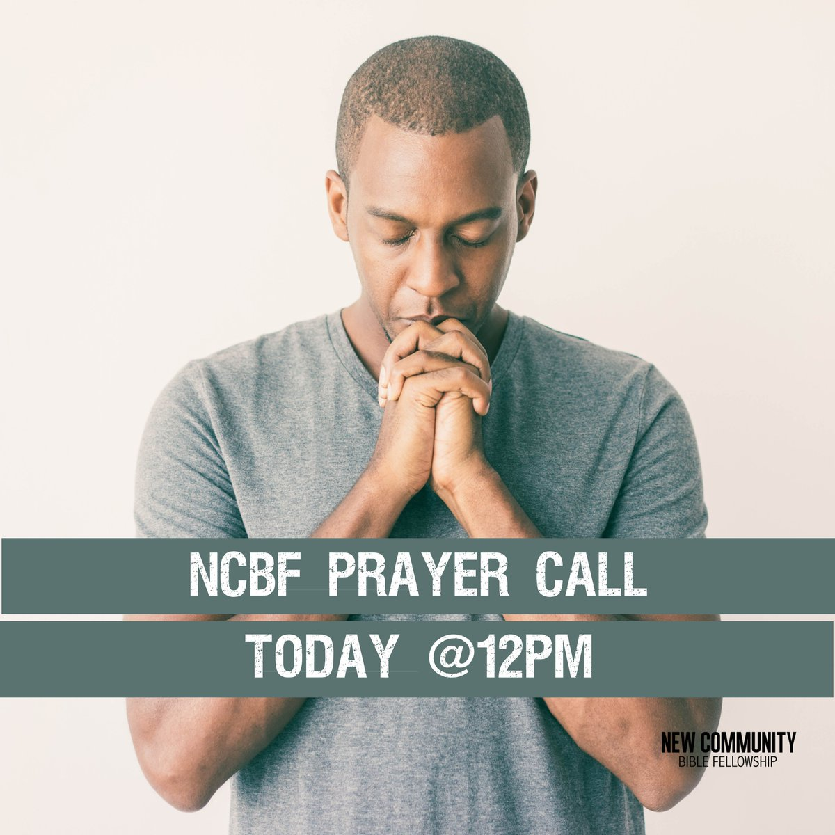Join your New Community family today at 12pm for our Weekly Prayer call as we cry out to God.  Dial in to (667) 776-9006 and pray with us.  You can also submit your prayer requests online at   #Prayer  #ncbfchurch