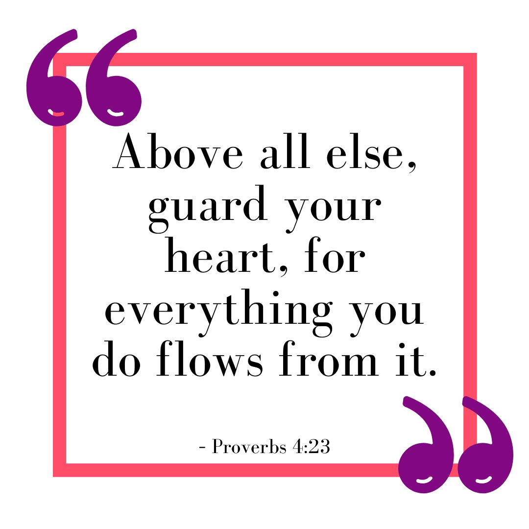 Guard your Heart 💜  #FaithfulFriday #god #prayer #lovegod #bibleverse #godislove