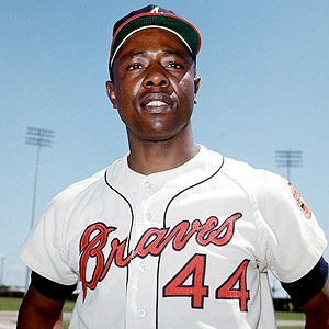 Hank Aaron just died 😪😪😪 RIP to a legend   Forever the true home run king