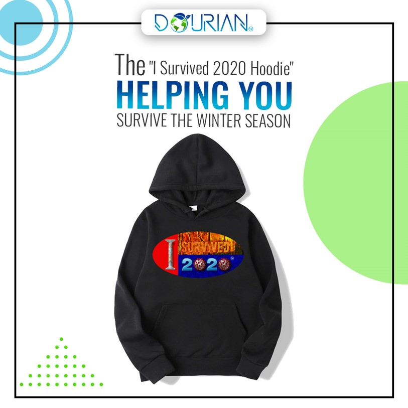 "The winter season is right around the corner and so is the new year –Now is the best time to rock our ""I Survived 2020"" merch.  Now in stock -    #ISurvived2020 #goodbye2020 #dourian #happynewyear #ecommerce #fashion #tshirt #apparel #strong #survival"