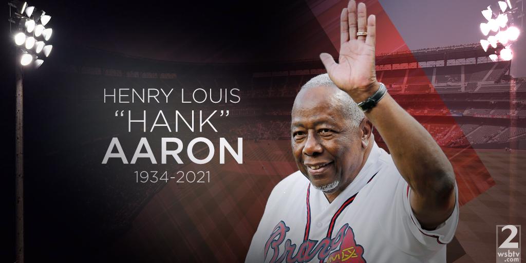 BREAKING: Braves legend Hank Aaron has died at age 86: