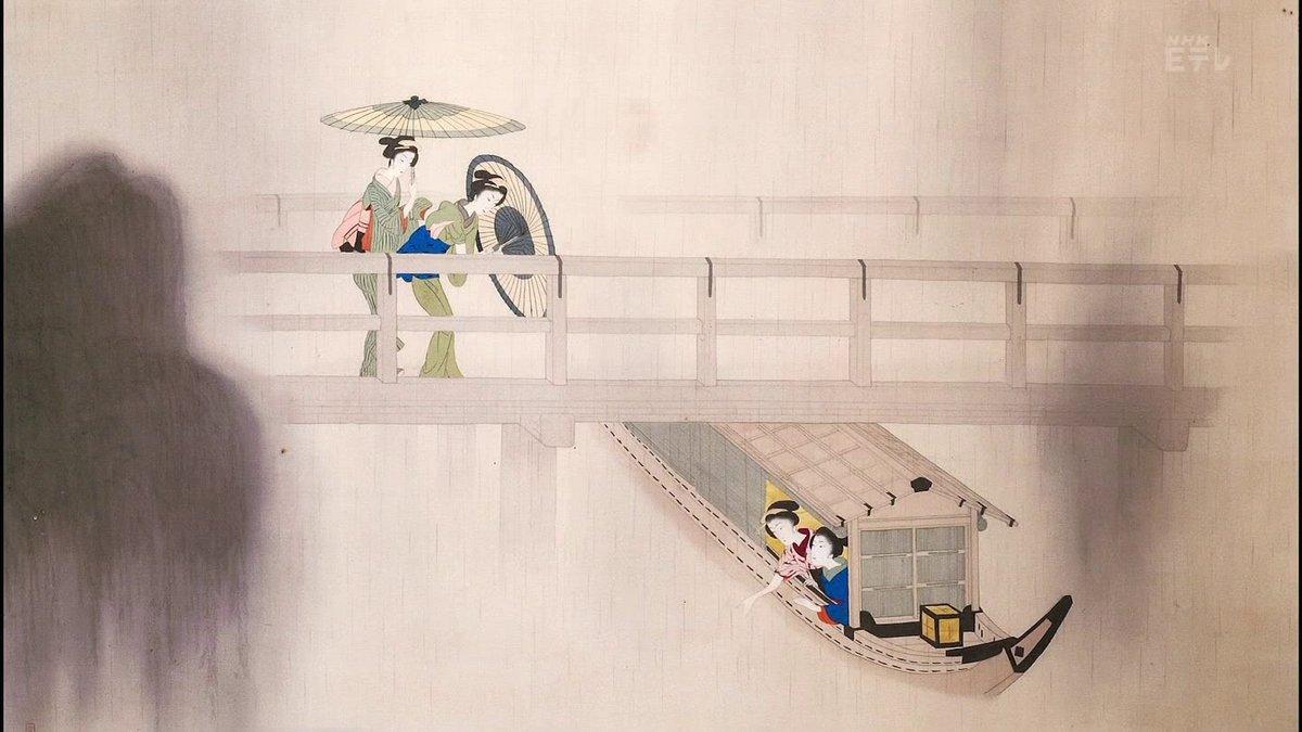 小村雪岱(こむら せったい)  Settai Komura (1887–1940) was a refined yet prolific Shin Hanga artist.