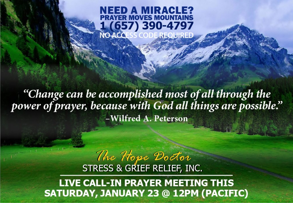 Please put down on your schedule and plan to #joinus  #Saturday #Prayer #Miracles #hope
