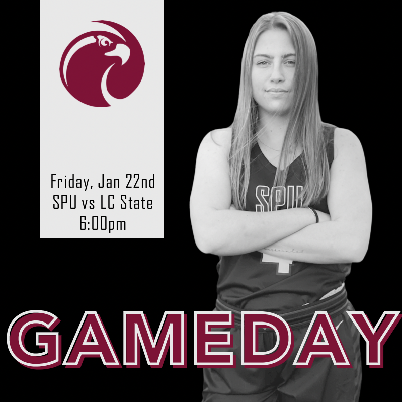 G A M E D A Y 🏀 The Falcons take on LC State tonight at 6:00pm PST. The game will be streamed on the SPU Sports YouTube channel. Tune in and let us know your watching!! #gofalcs   #spuwbb #digin #passion #spusports #gnacsports