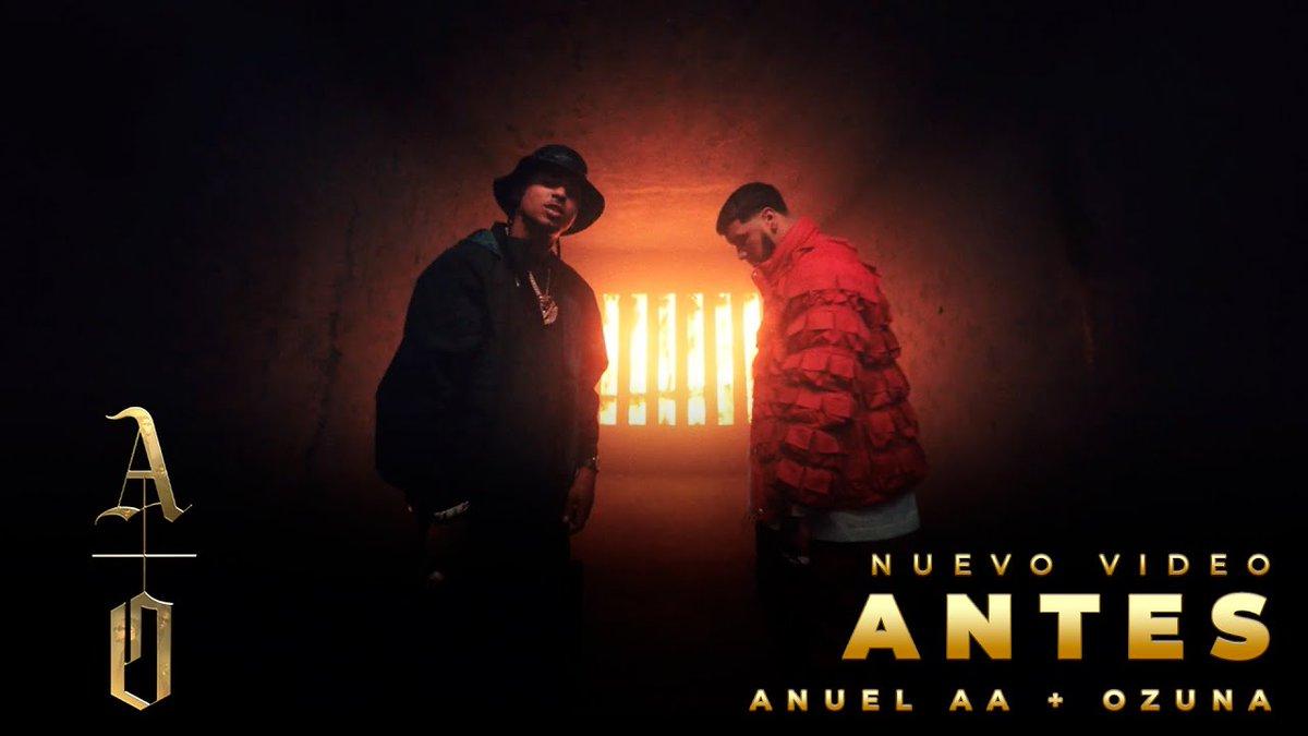 .@Anuel_2bleA y @ozuna nos dieron todo para que este fin de semana no tenga igual. 🔥😎 ¡Dale play a #Antes! #LosDioses ▶️