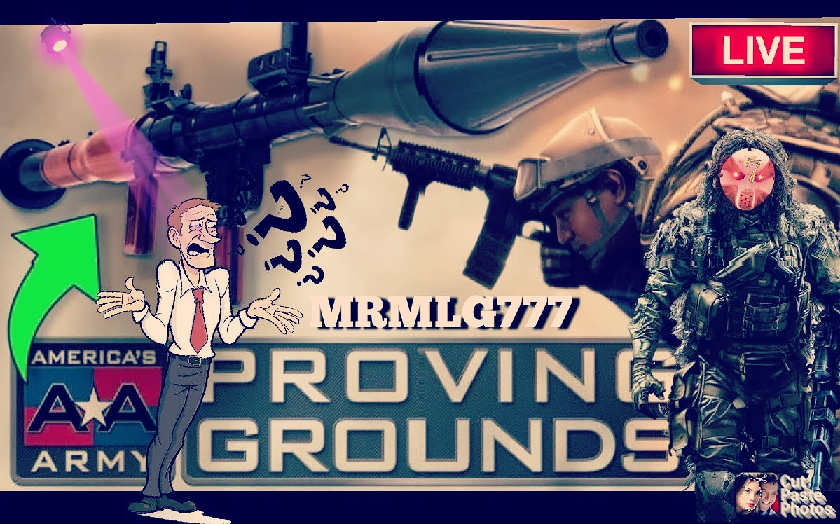 #MRMLG777 CROSS PLATFORMS GAMING #YouTuberChannel #FridayVibes #IMLIVERT 12PM. ECT. LIVE STREAMING. @YMajestyxx @82ndAirborneOP @WAR_TRYHARDER @cjafflick15 @thecarbonog #AMERICAARMYPROVINGGROUNDS @AmericasArmy 👈