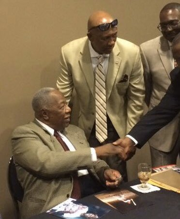 Saddened to say today I lost one of my heroes, Henry Aaron.  I was so Happy when I saw a man of color break the home run record. A great man both on and off the field. I send my love to the Aaron family.