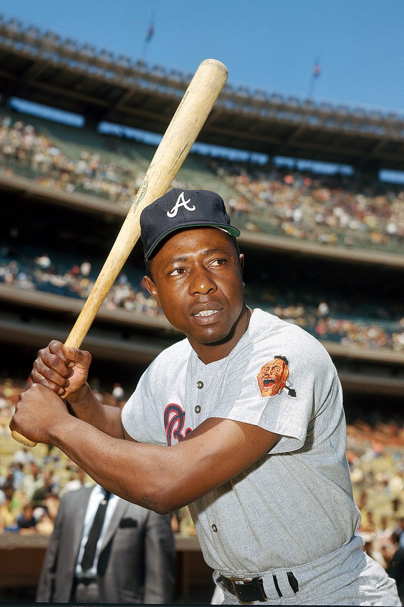 "RIP to a legend! #Atlanta #Braves Hall of Fame Home Run King ""Hammerin"" Hank Aaron passes away at age 86 🕊"