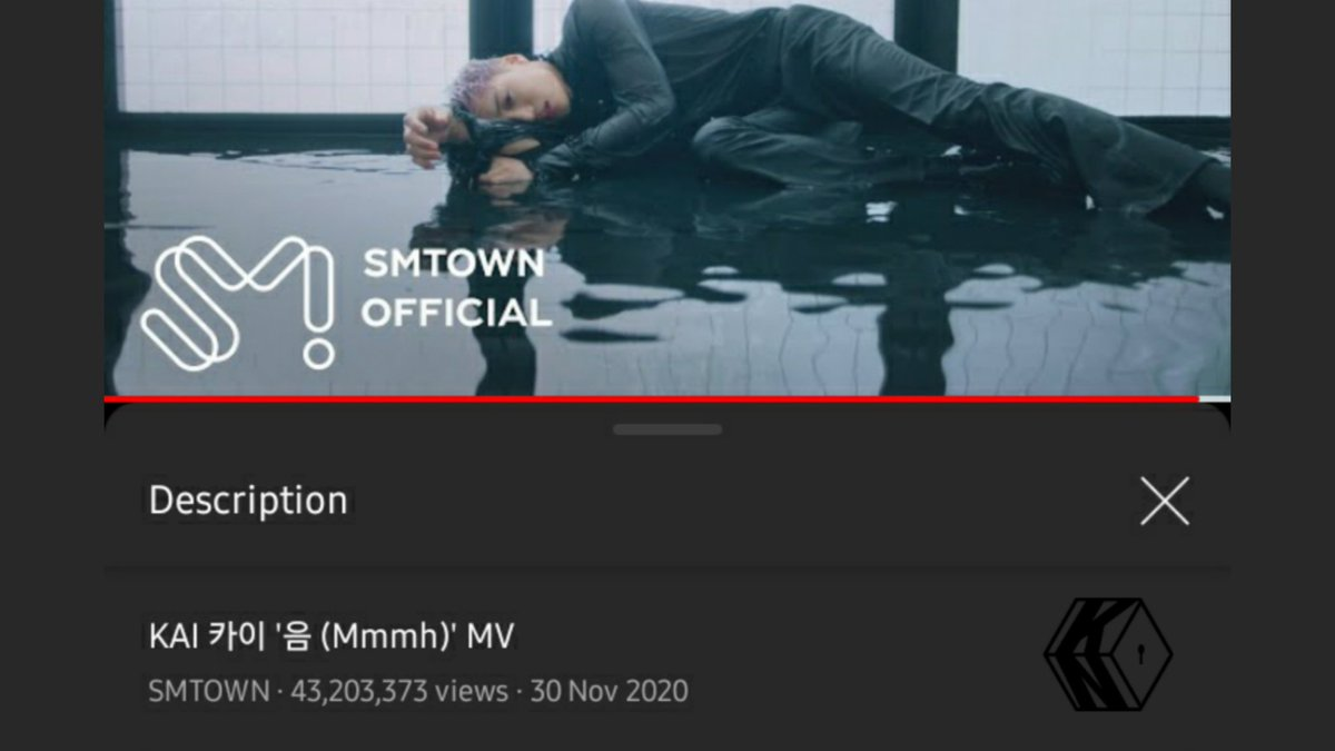 [STREAM] Kai's '음 (Mmmh)' surpassed 43,200,00 views on YouTube. 🔥  Keep streaming, and leave many comments. 👍 🔗  #KAI #카이 #엑소카이