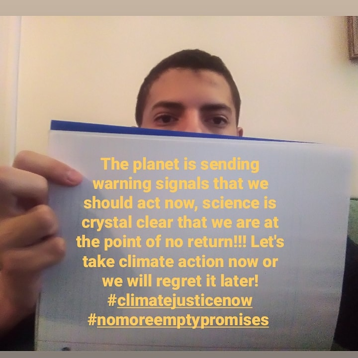 #climatestrikeonline week 41,the planet is facing unprecedented warming and we must take action now, the time is running out, there is no planet B, let's take #climateactionnow #nomoreemptypromises