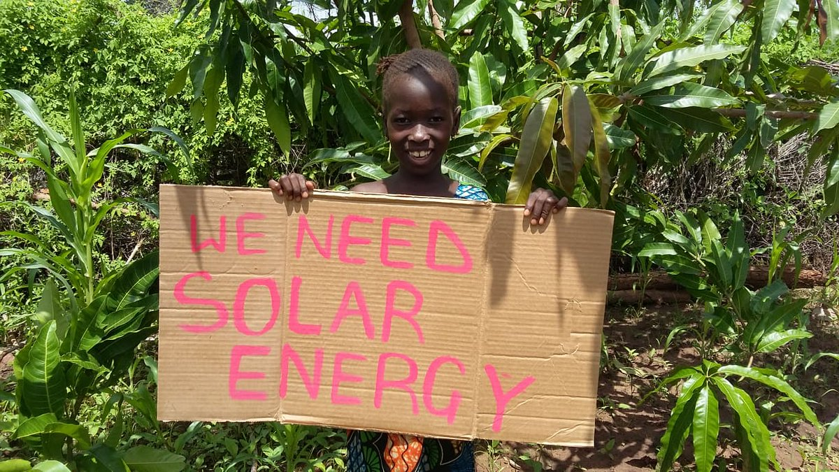 We need to #BuildBackBetter during and after #Covid19 #Batti #Gambia #ClimateStrikeOnline #FridaysForFuture