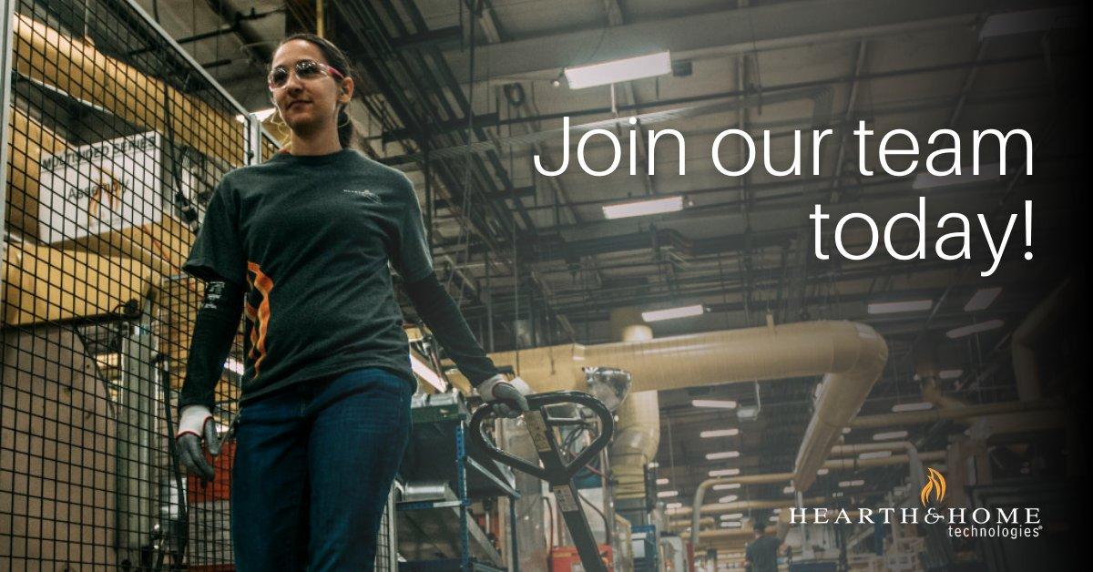 #DYK that #HHT is the largest hearth manufacturer in the world!? With over 100 patents and countless awards, there is no better time to become a #HearthExpert. Learn more:  #HHTcareers