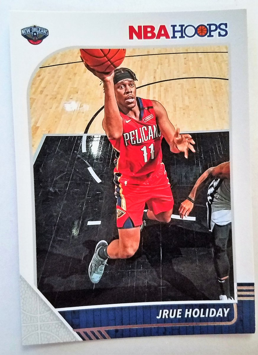 #Pelicans  JRUE HOLIDAY #118 2014-19 #NBA CAREER TOTALS 2019-20 PANINI-HOOPS BASKETBALL #SportsCards  https://t.co/7qGSAIDSN6 https://t.co/uOHU8hxWm2