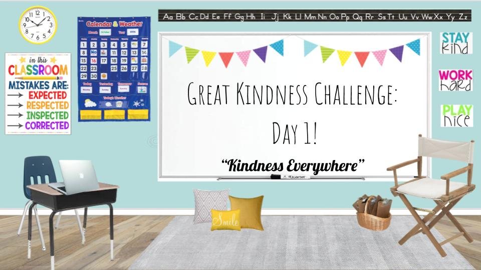 The #greatkindnesschallenge is January 25-29!  Kick off each day with a Morning Meeting that includes a quote, turn and talk, read aloud, and kindness challenge!  $4 for 5 Days of slides!    #sel #kindness #GoogleClassroom #morningmeeting