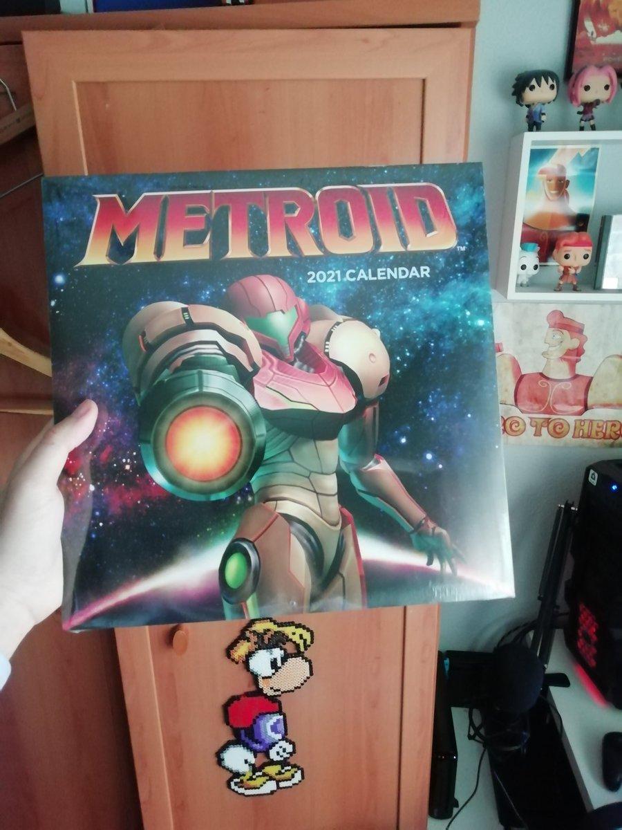 Ahora si. ¡Feliz 2021! @Metroid_ES #Metroid35