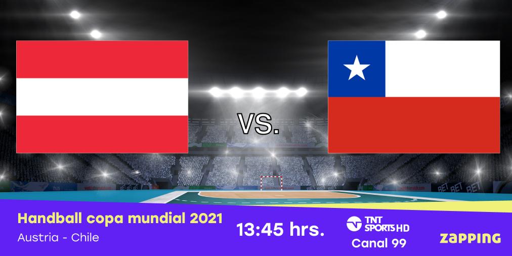 La roja del balonmano se enfrentará ante el combinado austriaco a las 14:00 horas antes de su partido final en la copa mundial de Handball 2021. En vivo por todas las señales de TNT Sports https://t.co/OnLM06yfW4