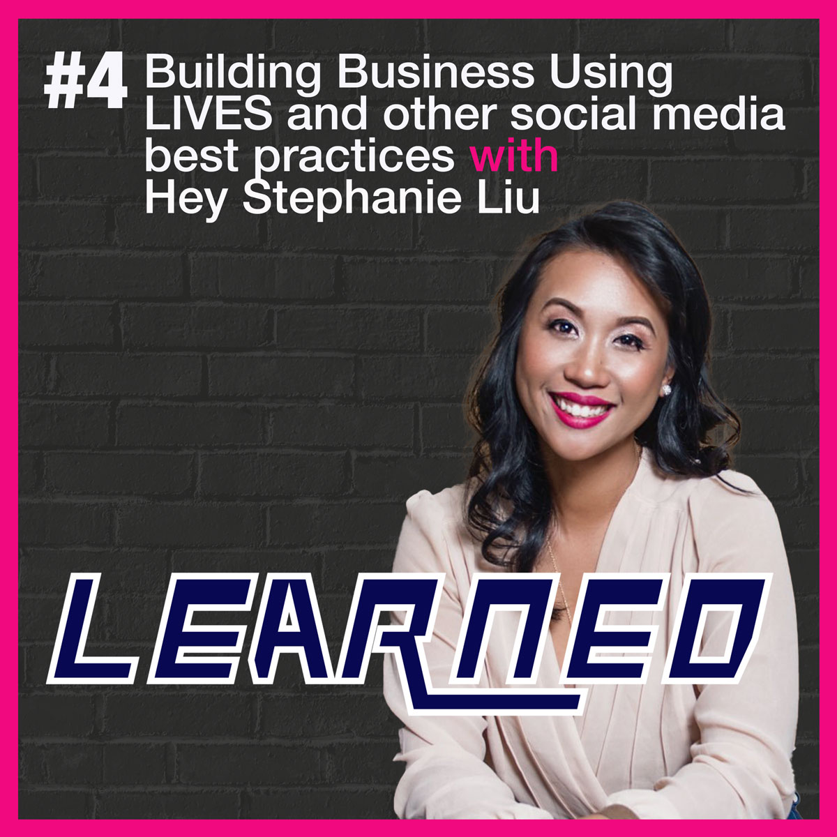Depending on your podcast platform, here are a few links.  TGIF!  New Episode with the amazing @heystephanie  Such a great role model for anyone starting a business, live streaming video and social media!  #thelearnedpodcast   @SquadCastFM @Simplecast