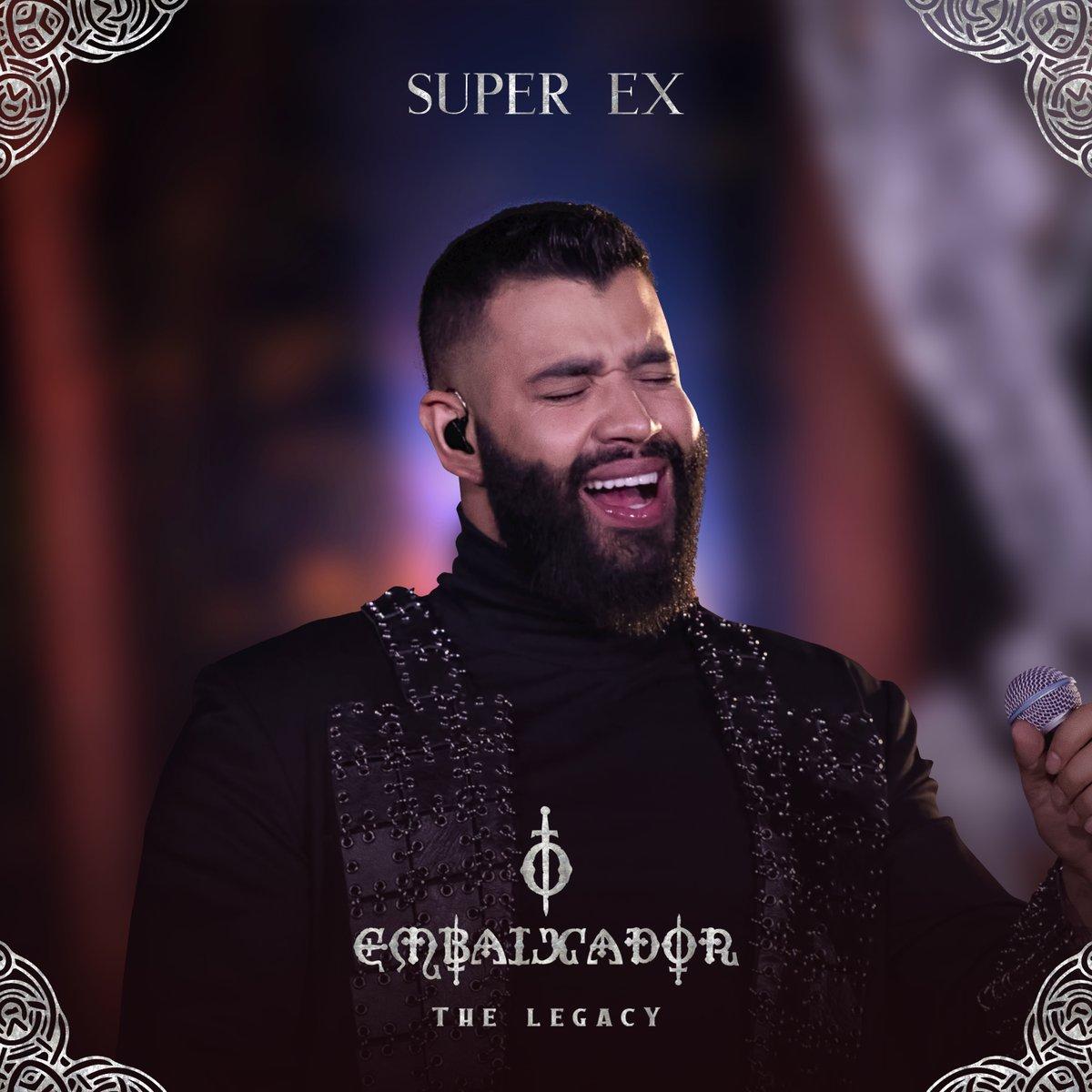 Está no ar, bb! #SuperEx, a nova do #OEmbaixador @Gusttavo_Lima está disponível agora nos apps de música e YouTube! ▶   💛🦾 #OEmbaixadorTheLegacy