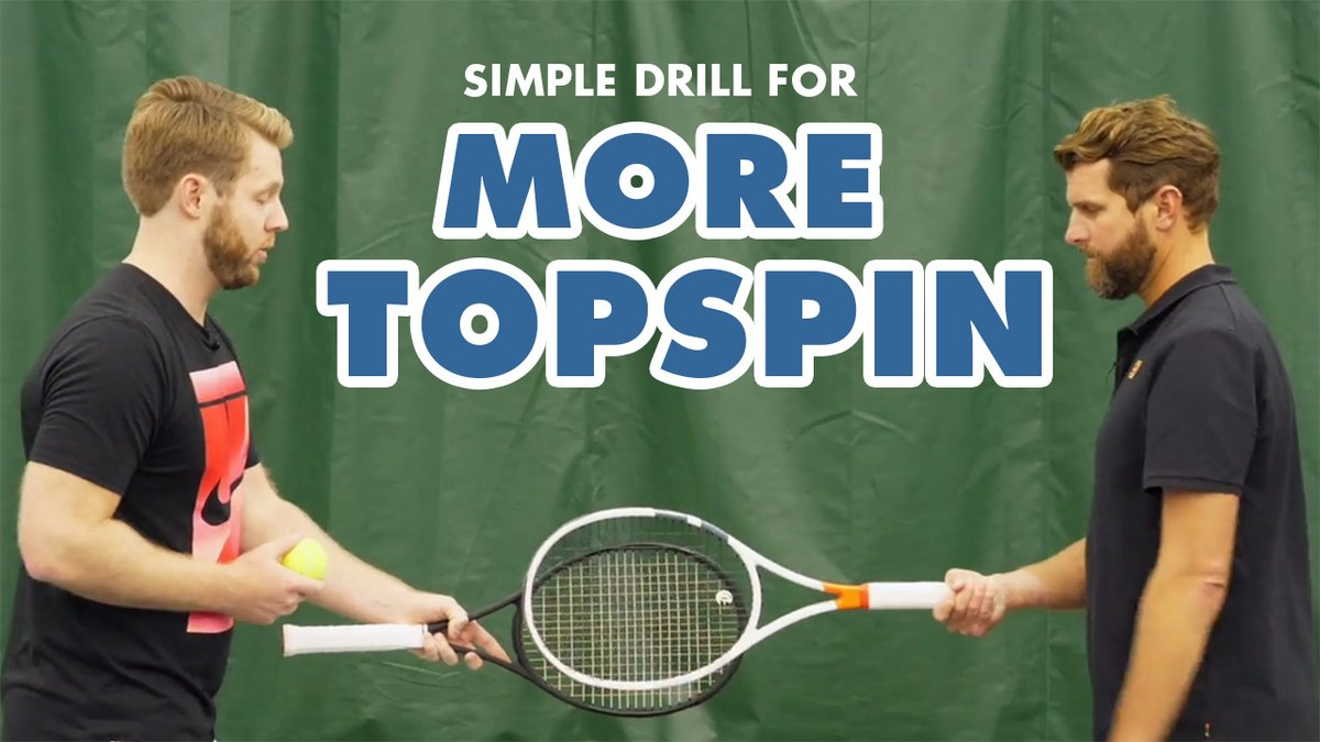 Watch this simple drill for MORE TOPSPIN ➡️   #tennis #tennislesson #tennisaddict #tennislessons #tenniscoaching #tennisfun #tennisvideo #tennisdrills #tennistraining #tennisplayers #tenniscoach #federer #nadal #djokovic #serenawilliams