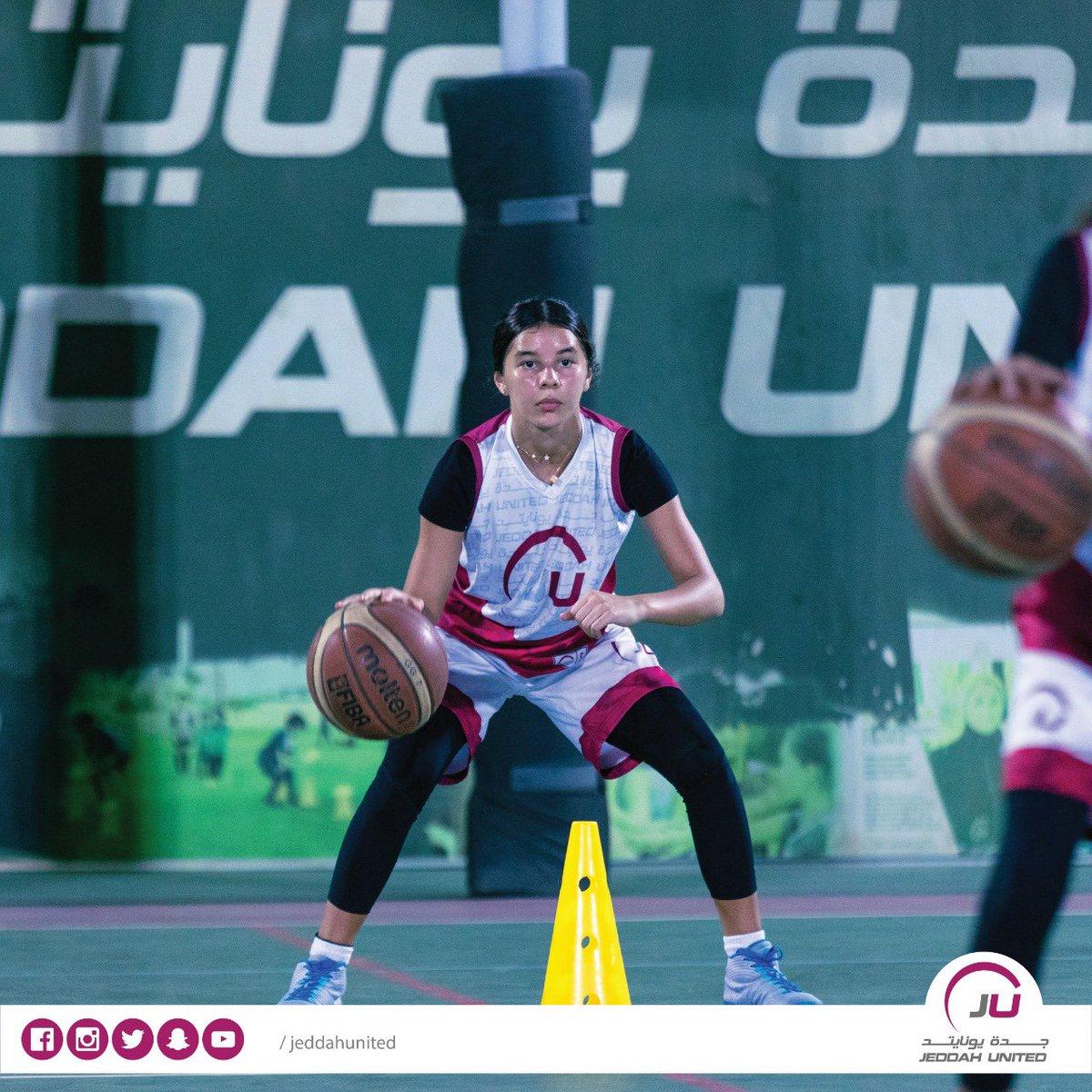 Work Hard🏀  Dream BIG 🏆 . . #JU #jeddahunited #ksa #saudiarabia #girl #football #soccer #basketball #jeddah #sport #academy #health #fit #lifestyle #passion #vision2030 #dream #جدة_يونايتد #جدة #كرة_القدم #السعودية #طموح #رياضة #صحة #أكاديمية #حلم #بنات