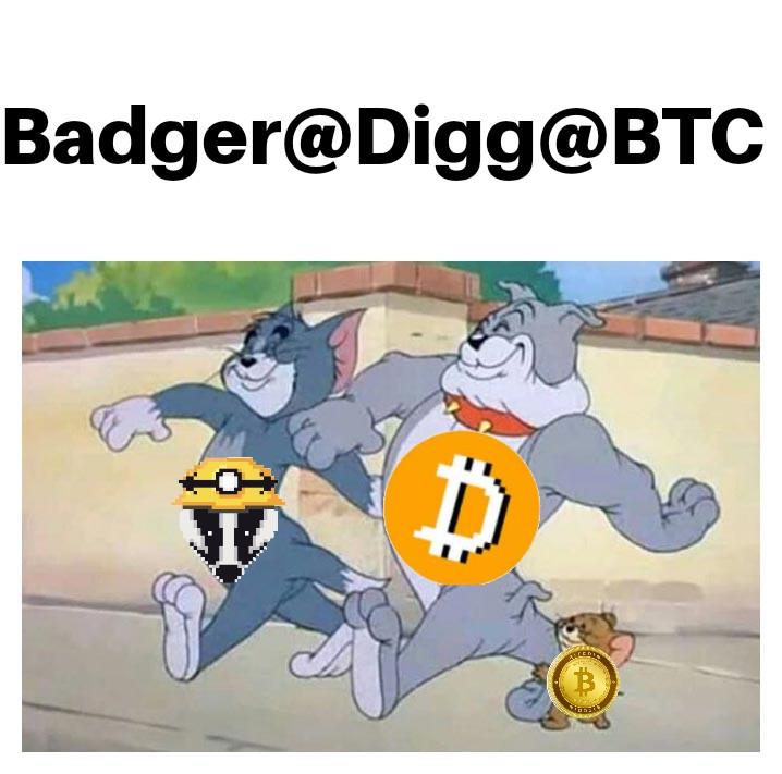 @BadgerDAO #WenDIGG #DIGG #BADGER @BadgerDAO #BTC