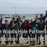 Image for the Tweet beginning: The Woods Hole Partnership Program
