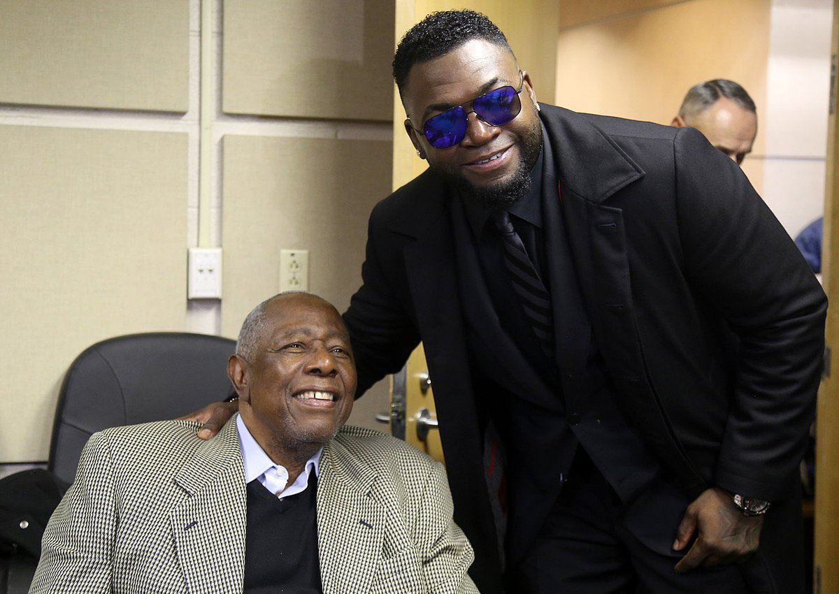 Replying to @davidortiz: A legend on and off the ball field... the best to ever do it... RIP Mr Hank Aaron 🙏🏿 #44