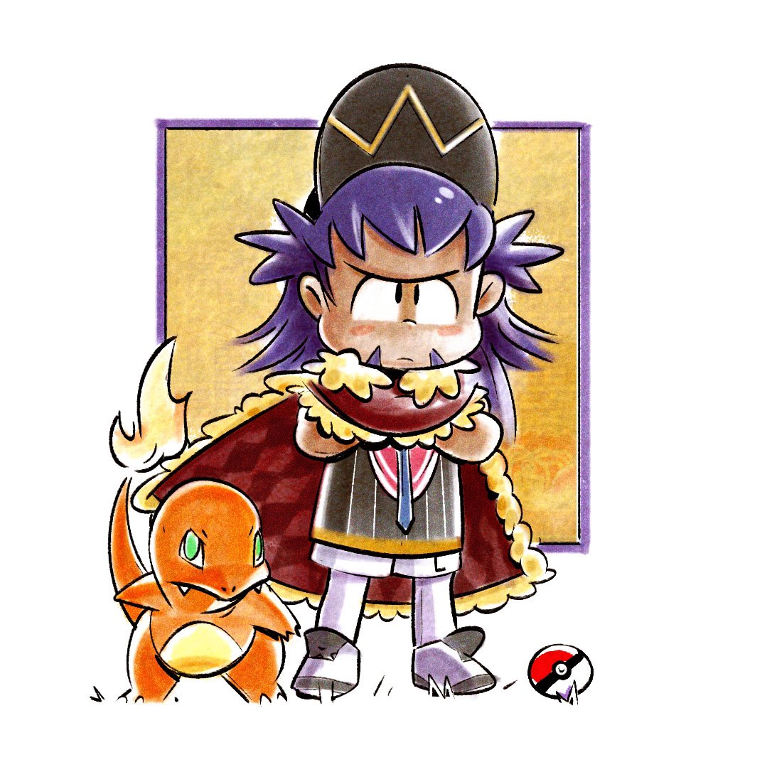 Little doodle of the champ @JamesTurner_42  the stripe under Leon's hat looks kinda like a crown, was that on purpose?   #pokemon #playpokemon #pokemon25 #PokemonGO #PokemonTCG