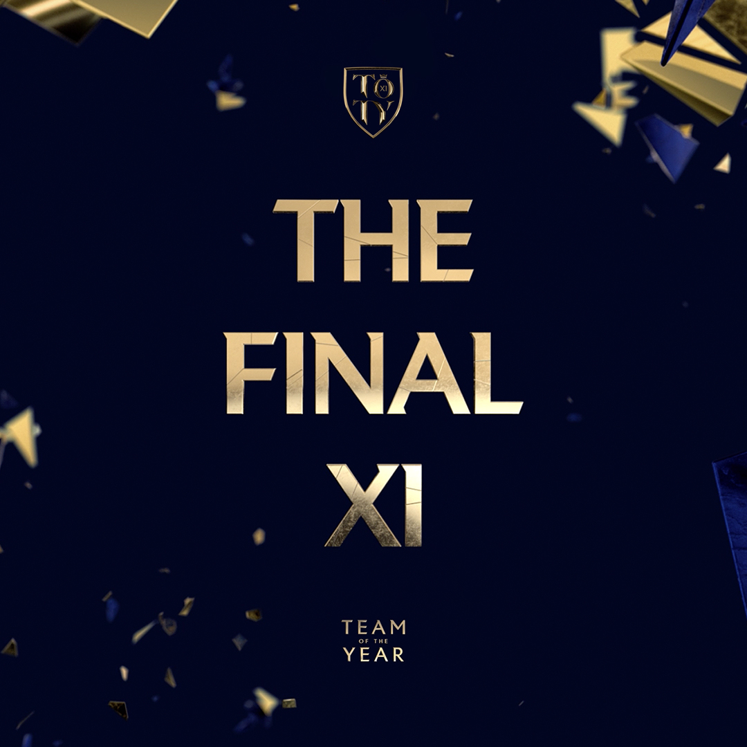 The people's champions. 🏆 Over 10 million votes from 185 countries. Introducing your Team of the Year.  #TOTY #FIFA21